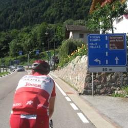Rennradführer-Südtirol / Auffahrt Gampenjoch