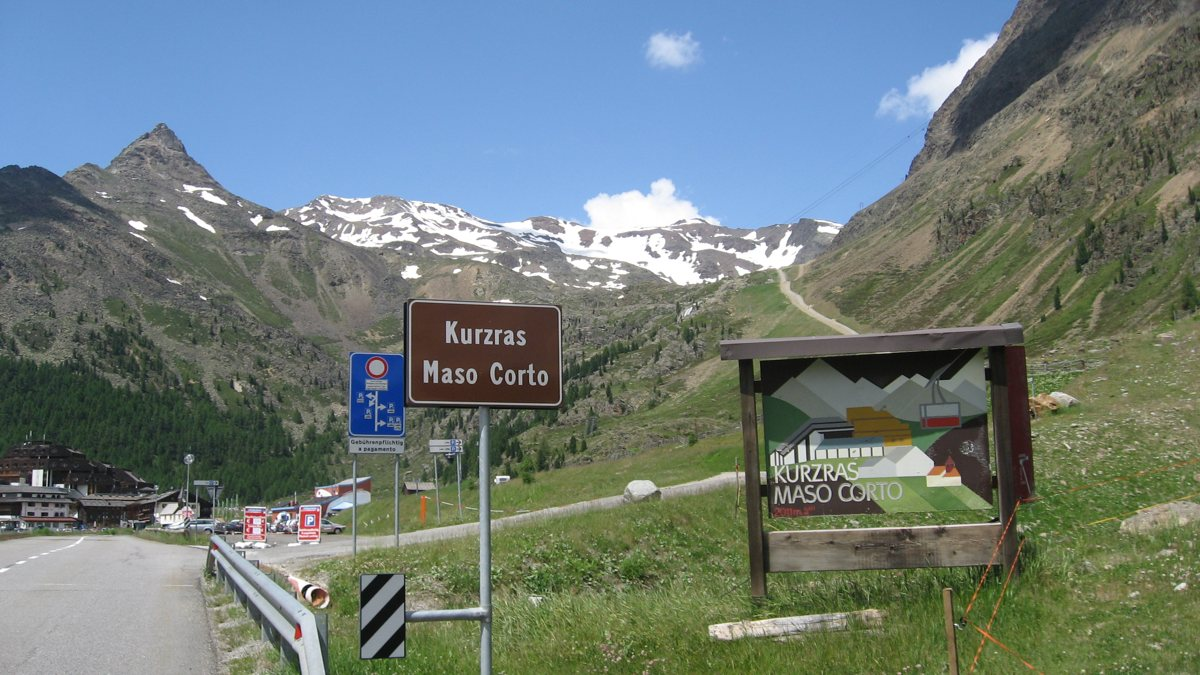 Rennradführer Südtirol / Kurzras