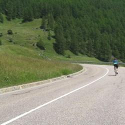 Rennradführer Südtirol / Serpentinen vor Vernagt