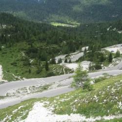 Sextner Dolomiten Runde / Serpentinen