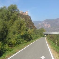 Rennradführer Südtirol: Fennberg/ Schloß Siegmundskron