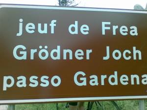 Grödner Joch / Passo Gardena