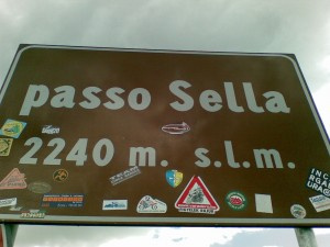 Sellajoch / Passo Sella