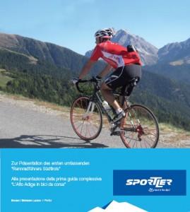 """Buchvorstellung """"Rennradführer Südtirol"""""""