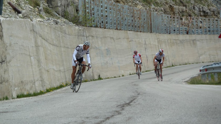 Kurz vor dem Passo Valbona