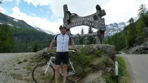 Mit dem Rennrad im Ultental in Weißbrunn