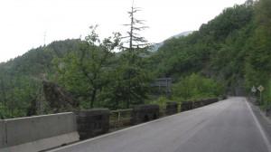 Rennradfahrt auf den Gampenpass