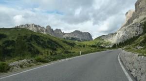 Grödner Joch mit Sellastock / Südtirol