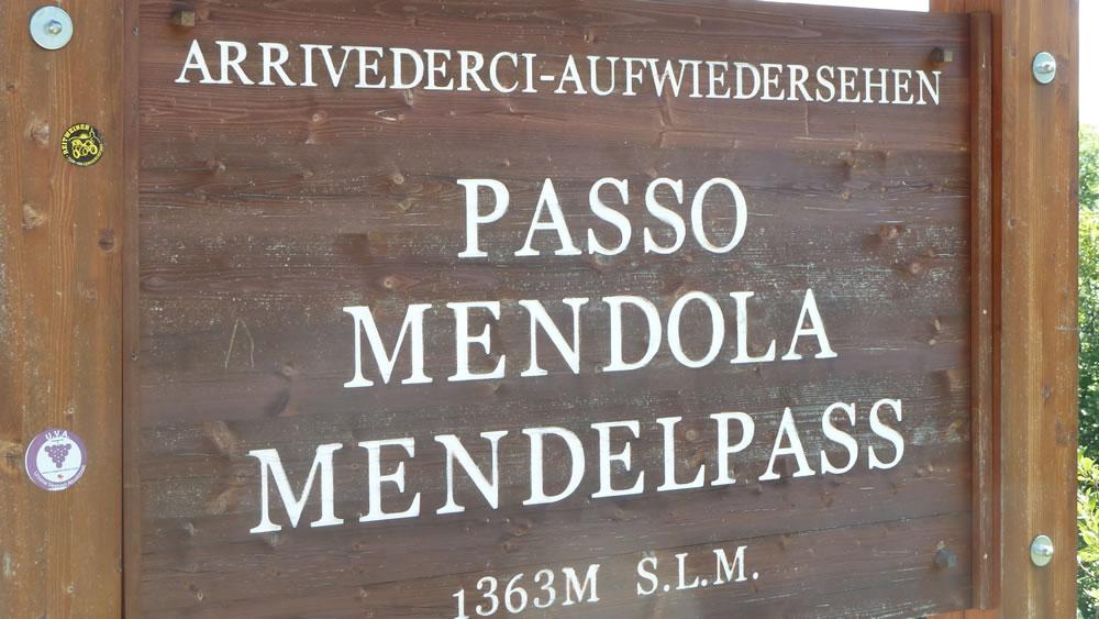 Mendelpass / Passo Mendola - 1363m