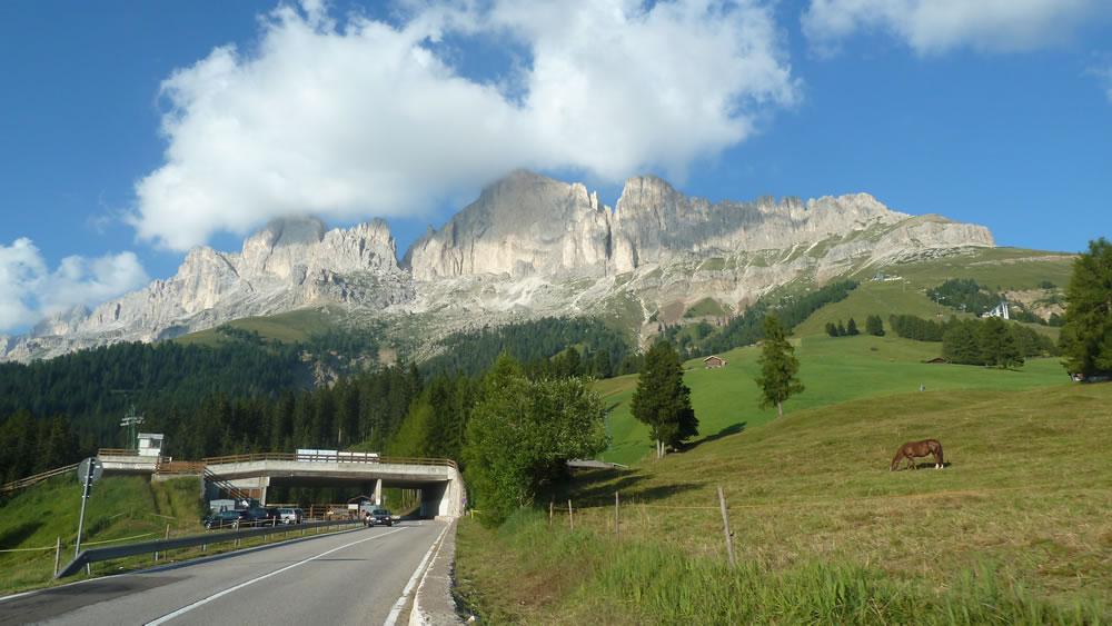 Der Rosengarten in Südtirol