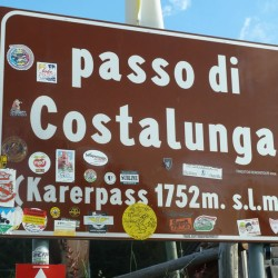 Karerpass / Passo di Costalunga (1752m) in Südtirol