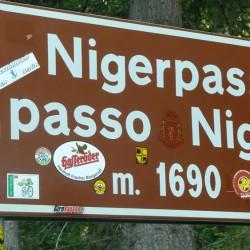 Nigerpass / Passo Nigra (1690m) in Südtirol