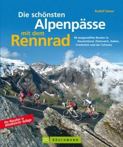 40 Rennradrouten über die schönsten Pässe in den Alpen