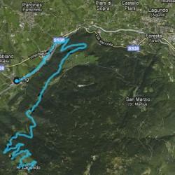 Rennradstrecke Rabland - Aschbach / Komoot