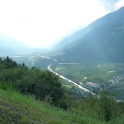 Blick in den Vinschgau