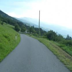 Rennradweg nach Aschbach