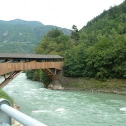 Eisacktal Radweg - Brücke nach Kastelruth