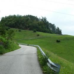 Weg nach St. Oswald am Schlern