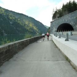 Mit dem Rennrad am Achensee