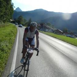 Mit dem Rennrad zum Tegernsee