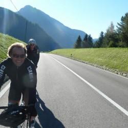 Mit dem Rennrad zum Achenpass