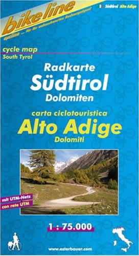Bikeline Radkarte Südtirol / Dolomiten