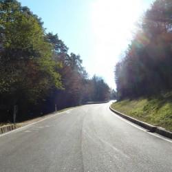 Passstraße zum Mendelpass