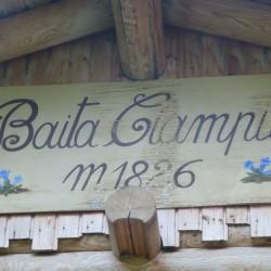 Rennradführer Trentino Nord / Val San Nicolo / Baita Ciampié (1826m)