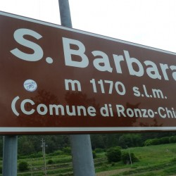 Rennradführer Trentino Süd / Passo Santa Barbara