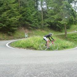 Rennradführer Trentino Süd / Abfahrt Passo S. Barbara