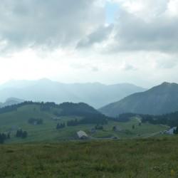Rennradtour Passo Ampola - Passo Tremalzo: Aussicht Auffahrt