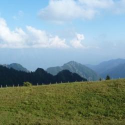 Rennradtour Passo Ampola - Passo Tremalzo: Aussicht Gardasee
