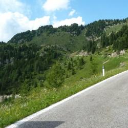 Rennradführer Trentino Nord - Tour 20 / Anstieg Manghen