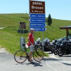 Rennradführer Trentino Nord - Tour 20 / Passhöhe Broconpass