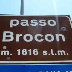 Rennradführer Trentino Nord - Tour 20 / Passo Brocon (1616m)