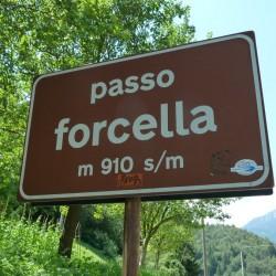 Rennradführer Trentino Nord - Tour 20 / Passo Forcella (910m)