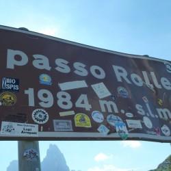 Rennradführer Trentino Nord - Tour 20 / Passo Rolle (1984m)