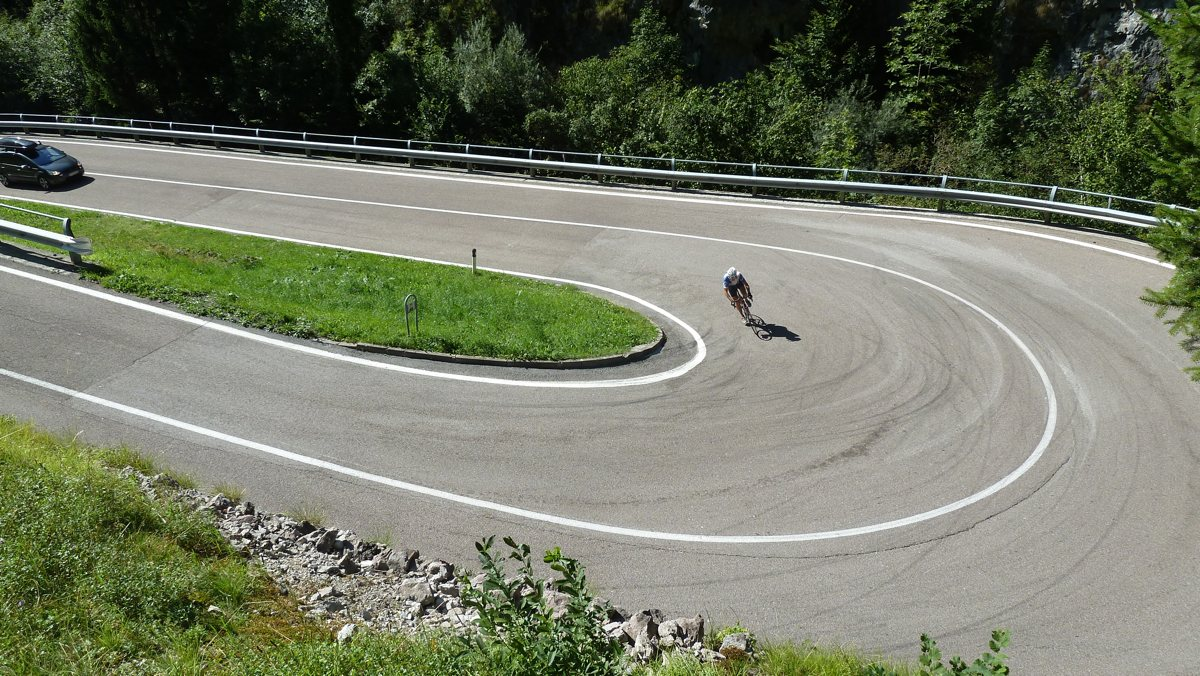 Rennradführer Trentino Süd / Serpentinen