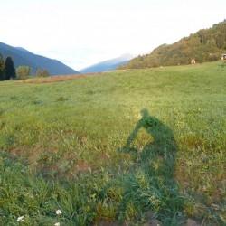 7 Uhr morgens bei der Auffahrt zum Passo Tonale