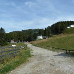 Rennradtour Panarotta 2002 / Skigebiet