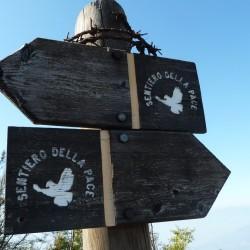 Monte Zugna: Sentiero della Pace