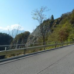 Passo Duron: Kein Verkehr