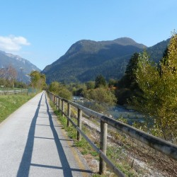 Passo Duron: Radweg
