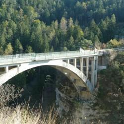 Passo Duron: Sarchebrücke