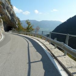 Passo Duron: Tunnel