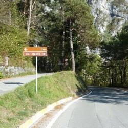 Passo Duron: Val Algone