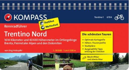 15 Rennradtouren im nördlichen Trentino