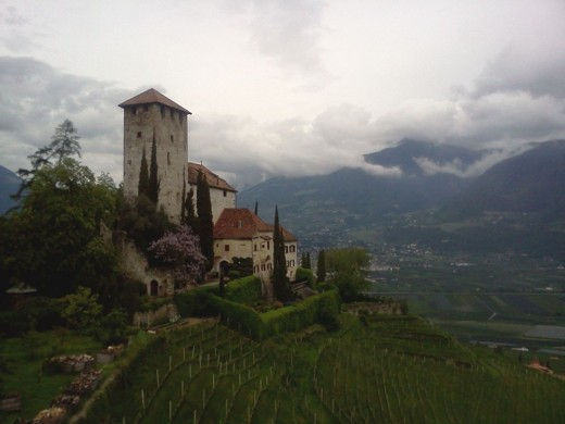 Burg Lebenberg am Marlinger Höhenweg