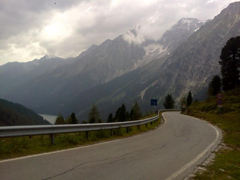 Blick vom Staller Sattel ins Antholzertal / Südtirol