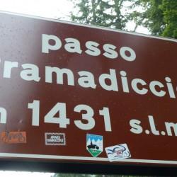 Mit dem Rennrad über den Passo Pramadiccio (1431m) im Trentino